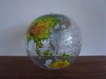 ビーチボール 地球儀 L