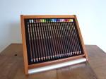 Pericia uni 色鉛筆24色セット WOODアルミケース