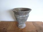 陶器 アンティーク風  フラワーベース