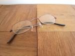 メガネ  メタル ブロンズ