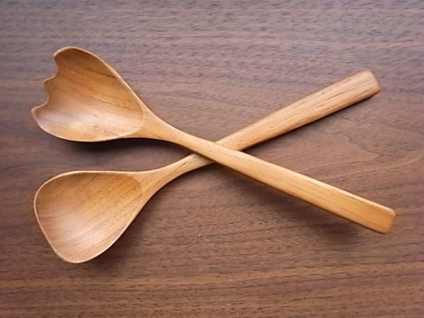 A.T. サラダサーバー wood