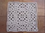 手編み鍋敷マット