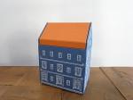 PAPER BOX HOUSE M ブルー