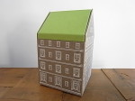 PAPER BOX HOUSE L ブラウン
