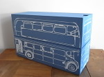 PAPER BOX BUS ブルー