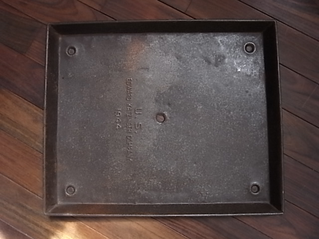 アンティーク メタルトレイ U.S. 1944