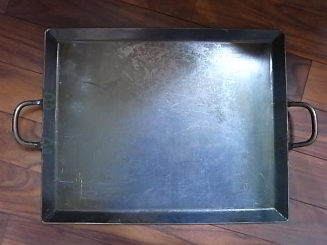 鉄板トレイ