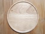 ACACIA ラウンドウッドプレート 円形