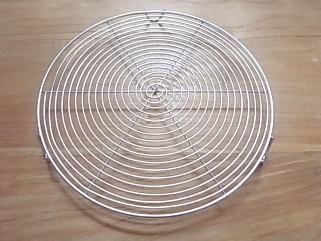 ケーキクーラー  丸型 シルバー