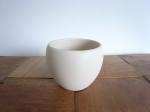 陶器 丸型 マットフラワーポット