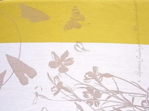 FRANCE Moutet  キッチンクロス  植物&トンボ