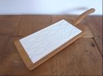アンティークタイル貼木製カッティングボード