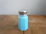 ヴィンテージガラス製 スパイスボトル ブルー
