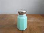 ヴィンテージガラス製 スパイスボトル グリーン