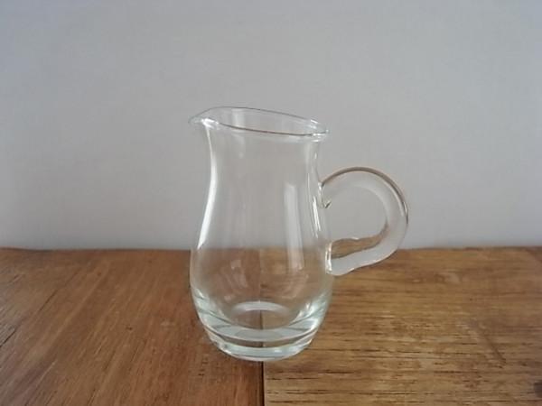 ガラス ミルクピッチャー