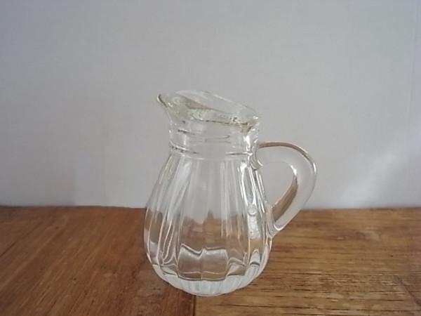 ガラスミルクピッチャー ストライプ
